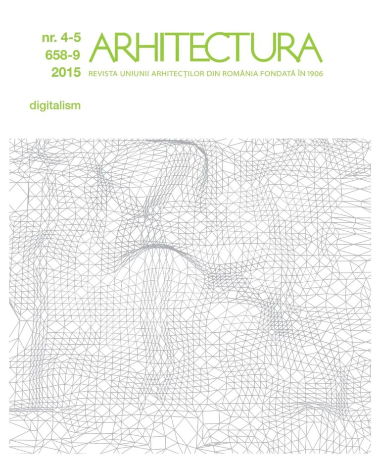 arhitectura … parametric mindset & decision-making